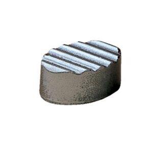 Polycarbonaat Bonbon Chocoladevorm: Ovaal met diagonaal reliëf