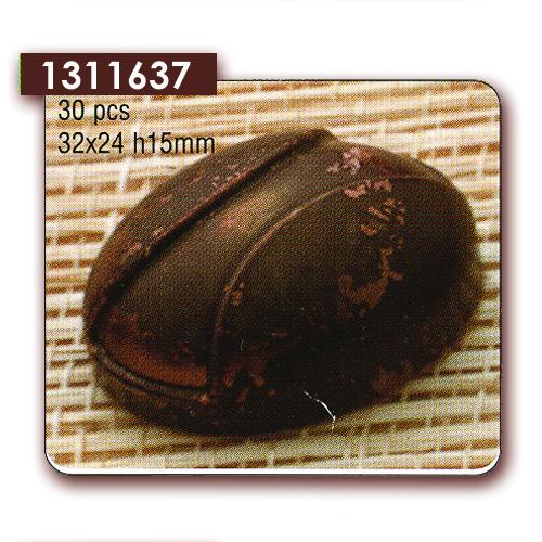 Polycarbonaat Bonbon Chocoladevorm: Ovaal