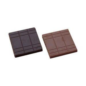 Polycarbonaat Bonbon Chocoladevorm: Vierkant Tablet