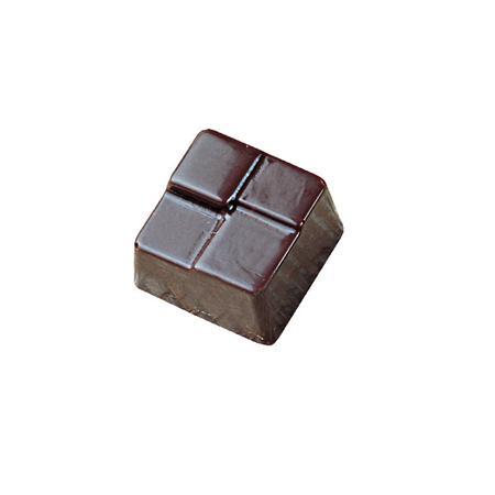 Polycarbonaat Bonbon Chocoladevorm: Kubus