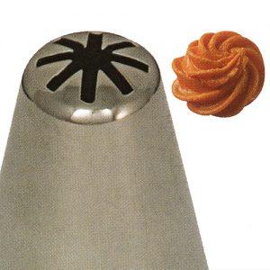 item #: 205017 - Bloemen Spuit - Ø17 - h.47 mm. (Naadloos)