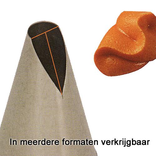 RVS Spuitje - Rozenblad - 1 stuks