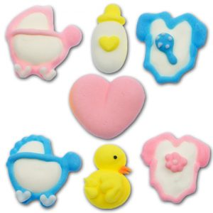 Suiker Decoraties - Baby Assortiment - Deluxe