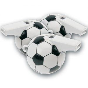 Voetbal Fluitjes - 12 Stuks per zakje