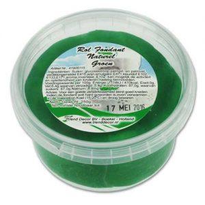 250 grams Pot - Rol Fondant Naturel - Groen