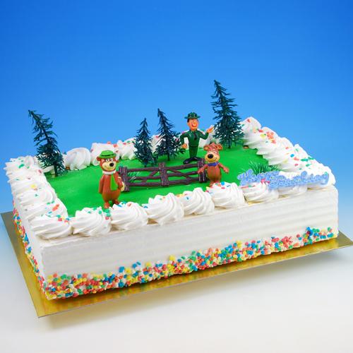 Yogi Bear - Taart Decoratie Set