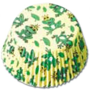 CupCake Caisses (Bakpapiertjes) - Kikker Koning