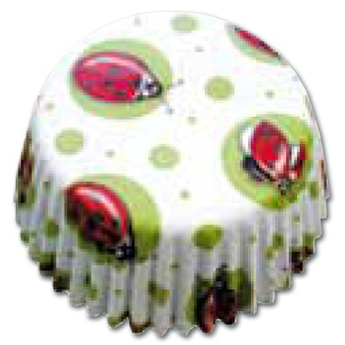 CupCake Caisses (Bakpapiertjes) - Lieveheersbeestjes