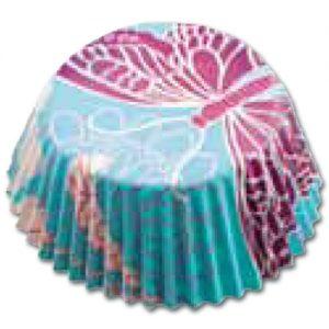 CupCake Caisses (Bakpapiertjes) - Vlinder Blauw