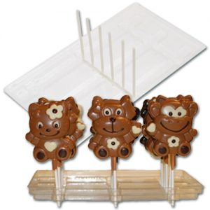 item # 611001 - Plastic Display voor 18 Lolly's