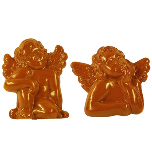 Plastic Chocolade Mal: Engeltjes