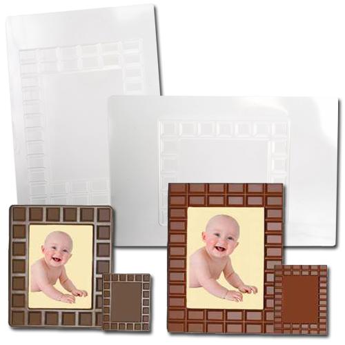 Plastic Chocolade Mallen: Foto lijstjes