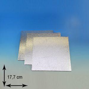 item # 540301 - DTS7-Cake Card-3mm dubbel dik- lxb 17,7cm- 1st.