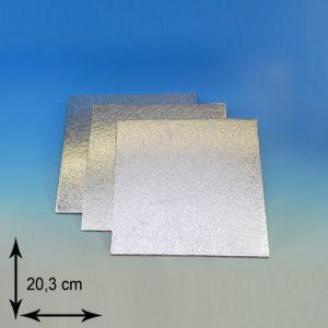 item # 540302 - DTS8-Cake Card-3mm dubbel dik- lxb 20,3cm- 1st.