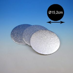 item # 540320 - DTR6 - Cake Card - 3mm dubbel dik-Ø15,5cm - 1st.