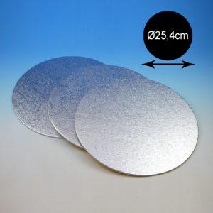 item # 540324 - DTR10-Cake Card - 3mm dubbel dik-Ø25,4 cm - 1st.