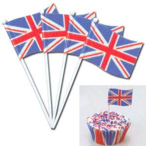 Engelse Vlaggetjes Prikkers