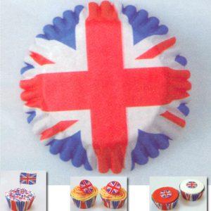 CupCake Caisses - Engelse Vlag