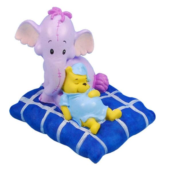 Slapende winnie de pooh & lollifant