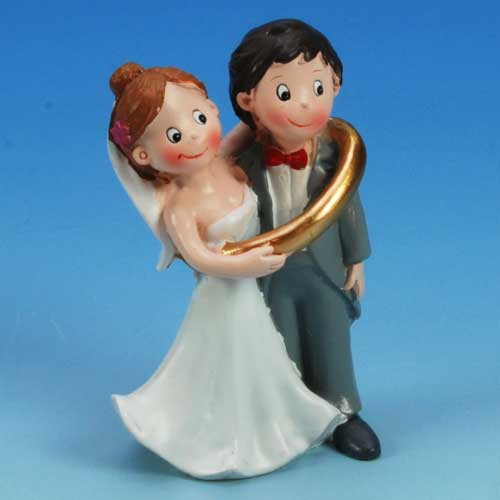 Medium Bruidspaar: In Grote Trouwring