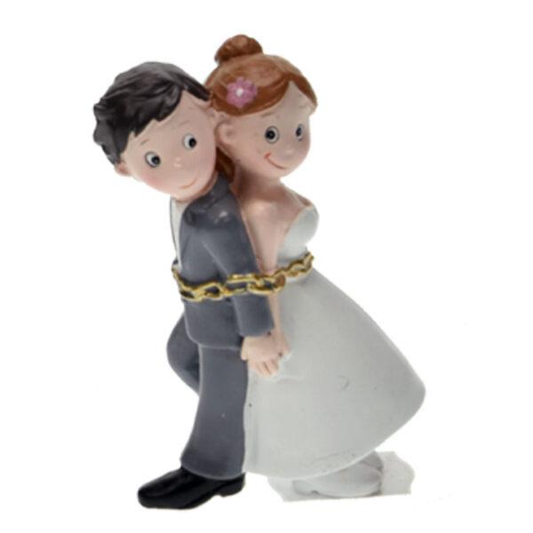 Medium Bruidspaar: Geketend