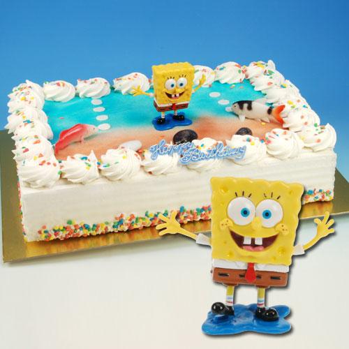 Sponge Bob - Taart Decoratie Set