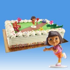 Dora - Taart Decoratie Set