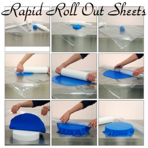Rapid Roll Out Sheets - Fondant & Marsepein Uitrolmat