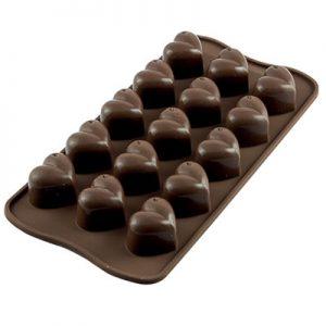 Siliconen Chocoladevorm: Monamour