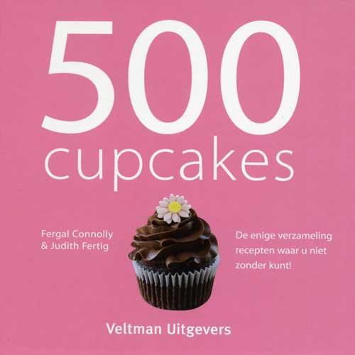 Boek: 500 CupCakes