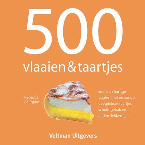 Boek: 500 Vlaaien & Taartjes