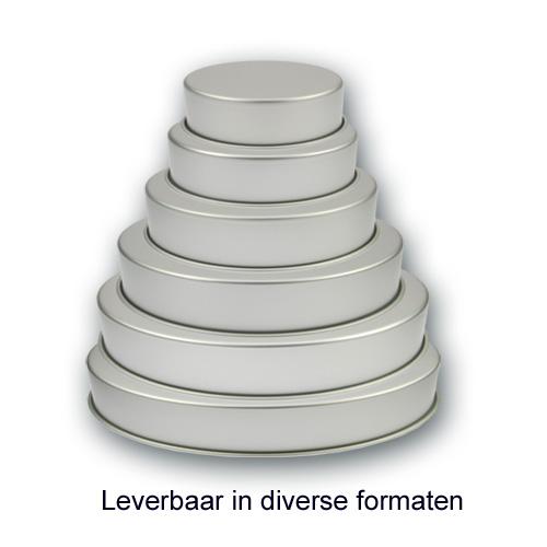 Bakvorm Rond - Aluminium - 3 inch hoog
