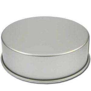 Bakvorm Rond - Ø 12 inch x h 4 inch - Geanodiseerd Aluminium -0