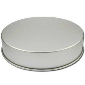 Bakvorm Rond - Ø16 inch x h 4 inch- Geanodiseerd Aluminium -0