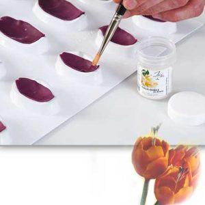 Modeleer vorm voor 12 tulpblaadjes