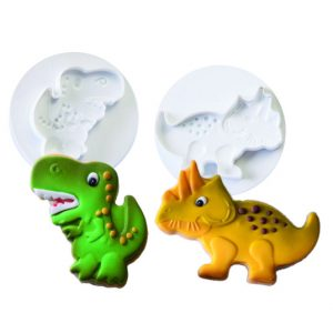 Steker-Uitdrukker Set: Dinosaurus