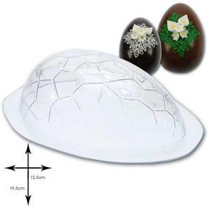 Vivak Chocolade Mal: Paasei met schildpad motief