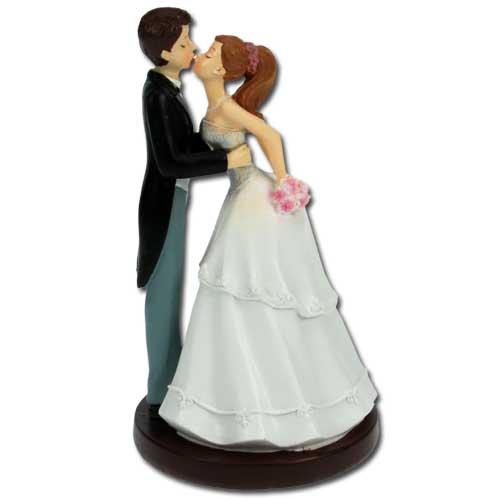 Bruidspaar Kussend