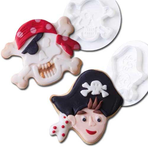 Steker-Uitdrukker Set: Piraten