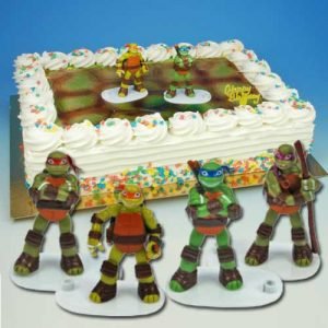 Ninja Turtles - Taart Decoratie Set