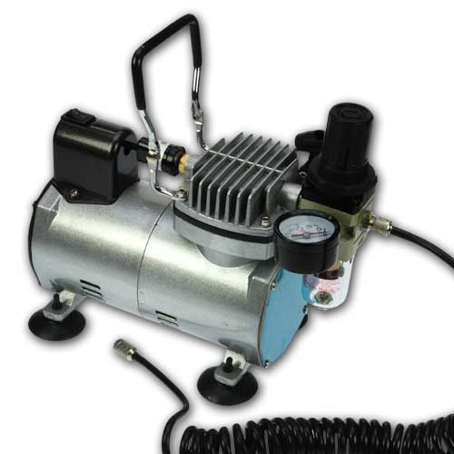 Professionele Airbrush Compressor 0-4bar