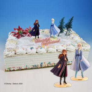 Frozen 2 - Taart Decoratie Set