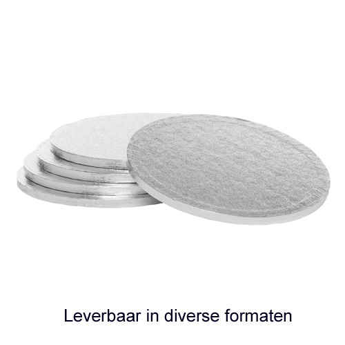 RWD Cake Board (Drum) - Rond - Dikte 13mm