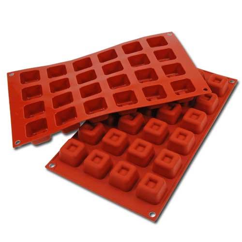 Siliconflex Siliconen Bakvorm Vierkant Savarin