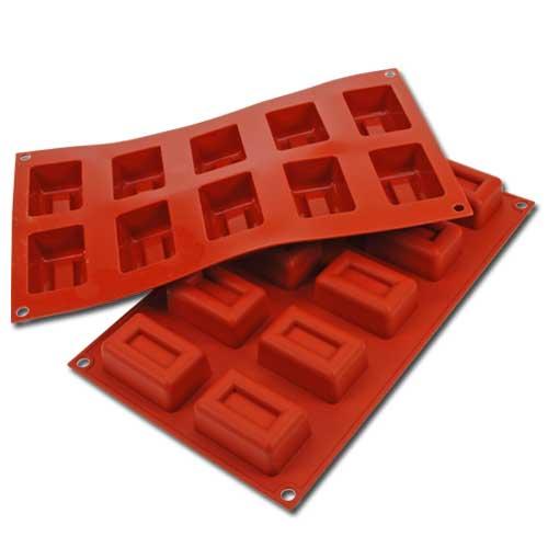 Siliconflex Siliconen Bakvorm Rechthoek Lingotto