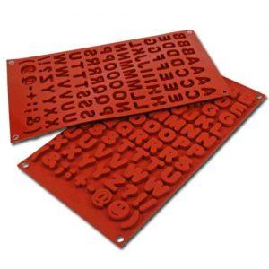 Siliconflex Siliconen Bakvorm Alfabet