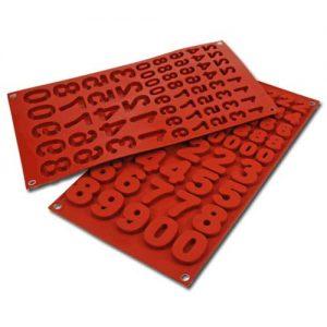 Siliconflex Siliconen Bakvorm Cijfers