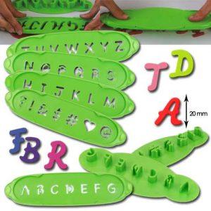 Steker-Uitdrukker Set - Alfabet