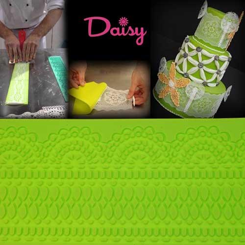 Daisy Paste Siliconen mat - Venezia