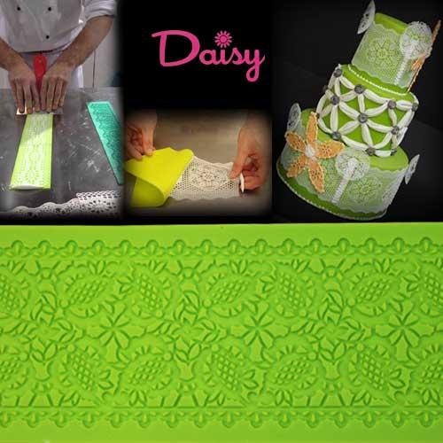 Daisy Paste Siliconen mat - Foglie Fitte